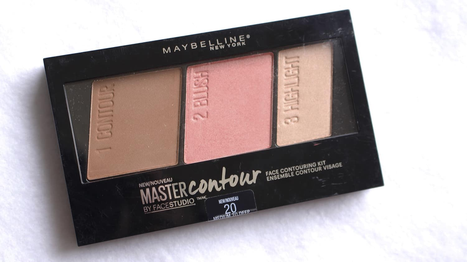 Master Contour Maybelline capa